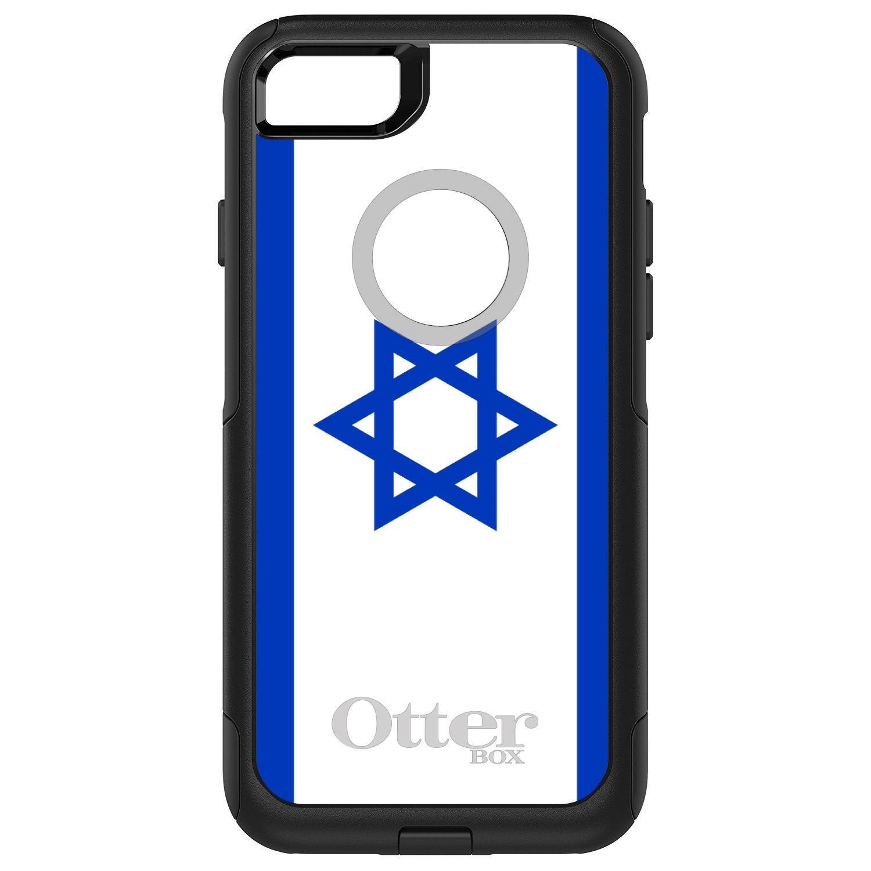 DistinctInk Custom Black OtterBox Commuter Series Case for Apple iPhone 7  ...