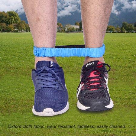 Qiilu Leg Race Bands, Race Tie Rope,4Pcs Three Legged Ropes Elastic Sport Tie Rope Foot Running Race Game for Children Kids - image 8 of 12