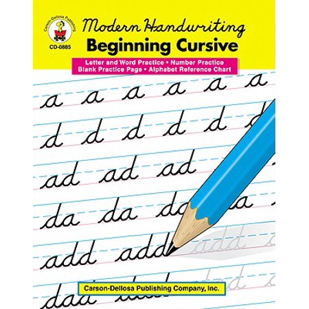 Modern Handwriting: Beginning Cursive, Grades 1 - - Halloween Handwriting