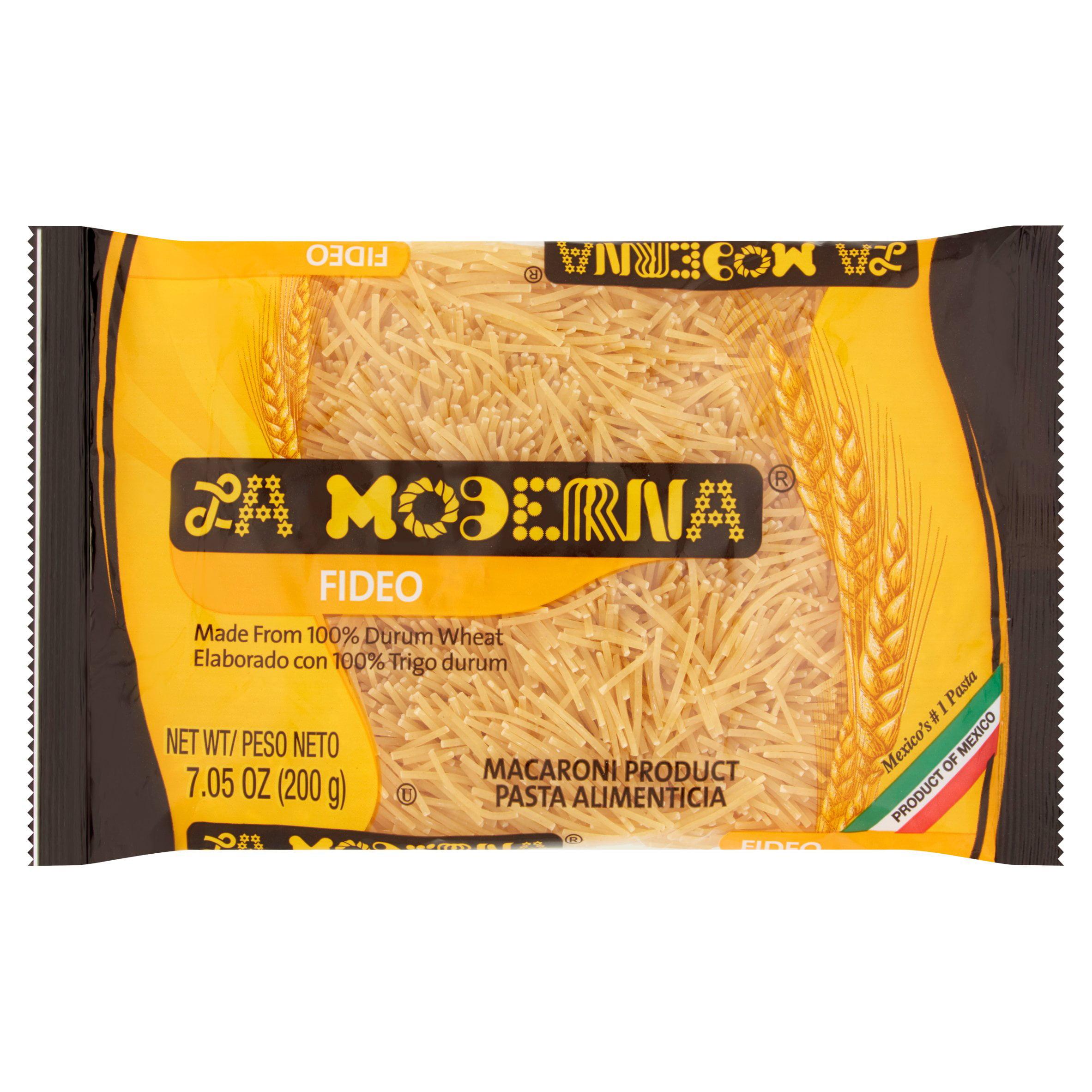 (5 Pack) La Moderna Fideo Macaroni, 7.05 oz