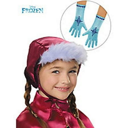 Disney Frozen Anna Bonnet & (Disney Frozen Elsa's Magical Musical Gloves)