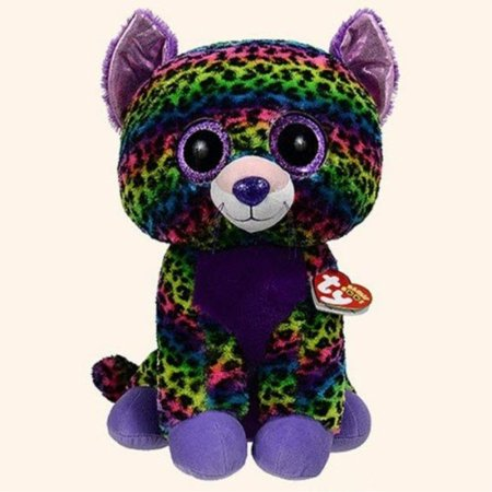 Ty Beanie Boos Trixie - Leopard Large (Justice Exclusive)