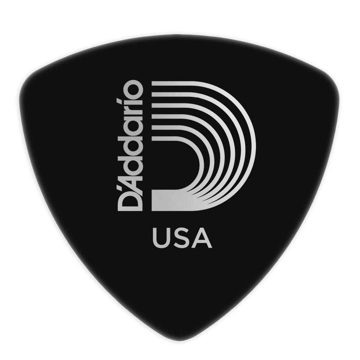 Planet Waves Black Celluloid Guitar Picks, 10 pack, Heavy, Wide Shape by