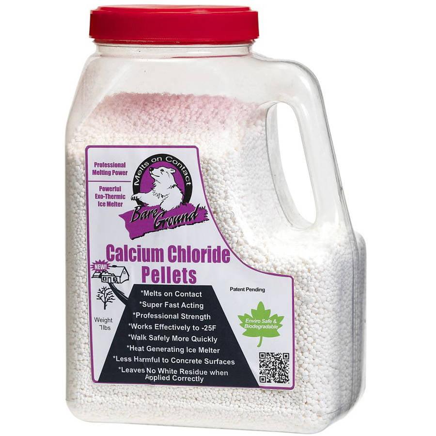 Bare Ground Calcium Chloride pellets