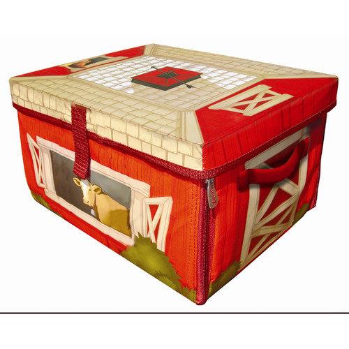 ZipBin Farmland  Toy Box Playset