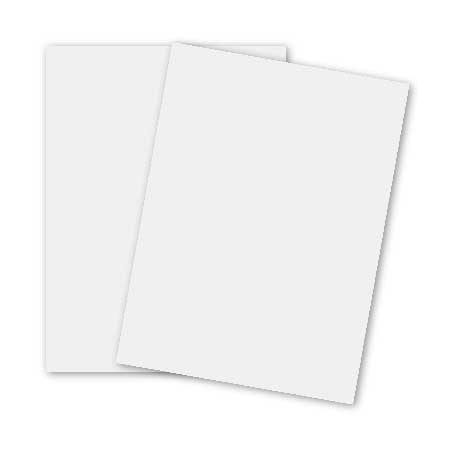 Basic White 11 x 17 (Lightweight) Card Stock Paper 65lb Cover (176gsm) 100/Pack Cover Weight Paper