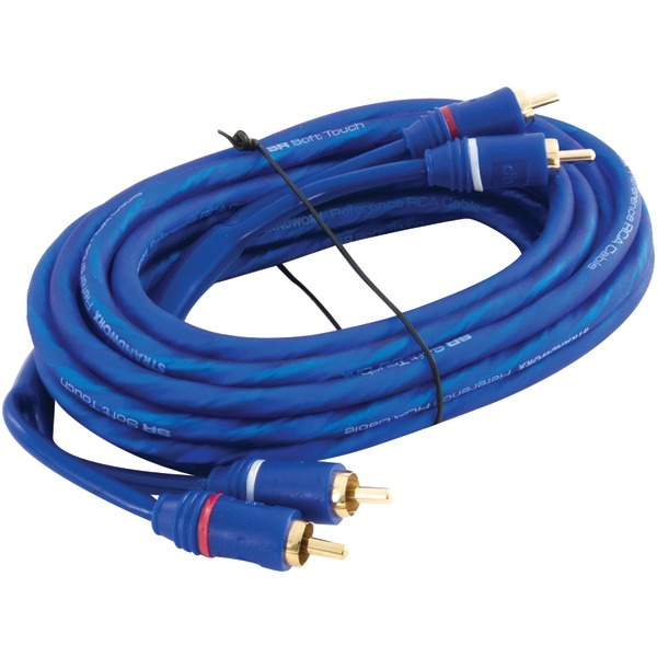 DB LINK SR15 Soft-Touch Triple Shielded Blue Strandworx(TM) RCA Cable (15ft)