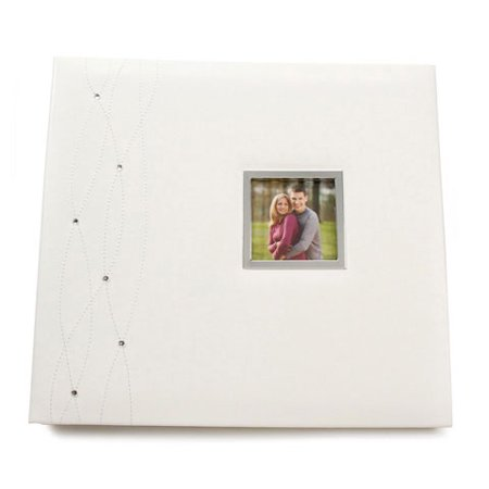 Scrapbook White With Gems 12X12 Creative Memories 12x12 Scrapbook