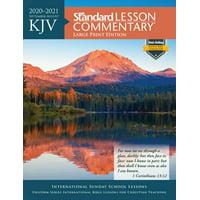 KJV Standard Lesson Commentary Large Print Edition 2020-2021