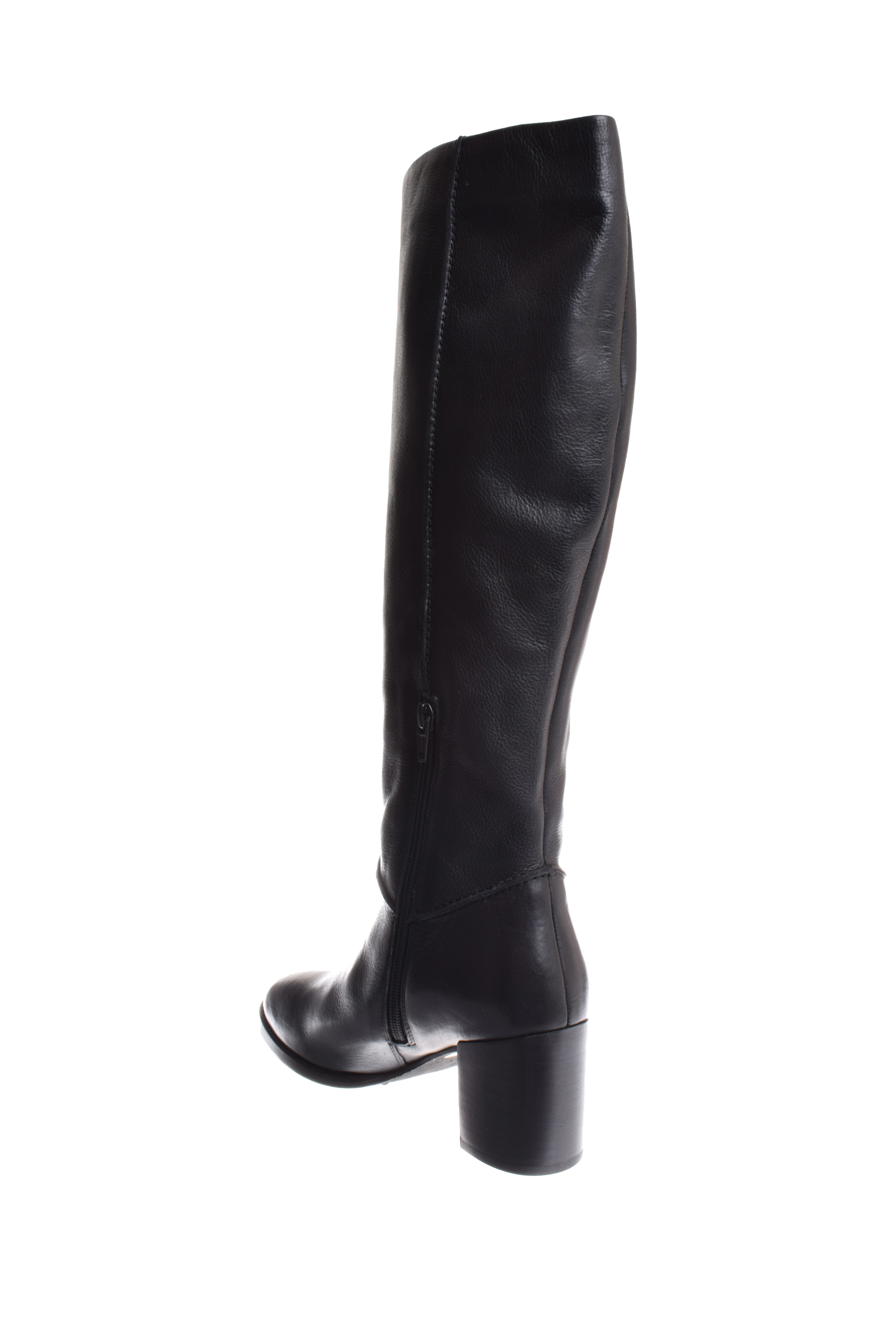 Seychelles Final Bow Knee High Leather Boot - Black