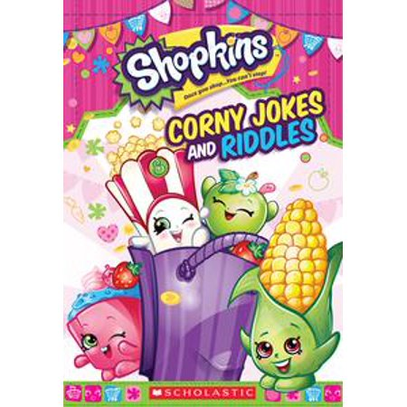 Corny Jokes and Riddles (Shopkins) - eBook