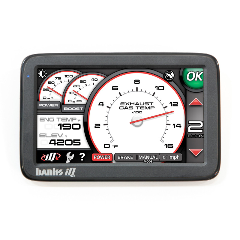 Banks Power 07-10 Chevy 6.6L LMM Banks iQ Man-Machine Interface/ SG-Tuner
