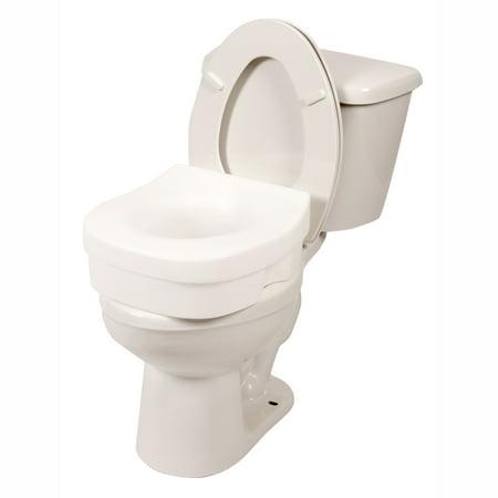 Pcp Premium Molded Toilet Seat Riser Interchangeable Non