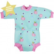 Splash About Happy Nappy Diaper Wetsuit Apple Daisy X Large 12-24 Months by Splash About