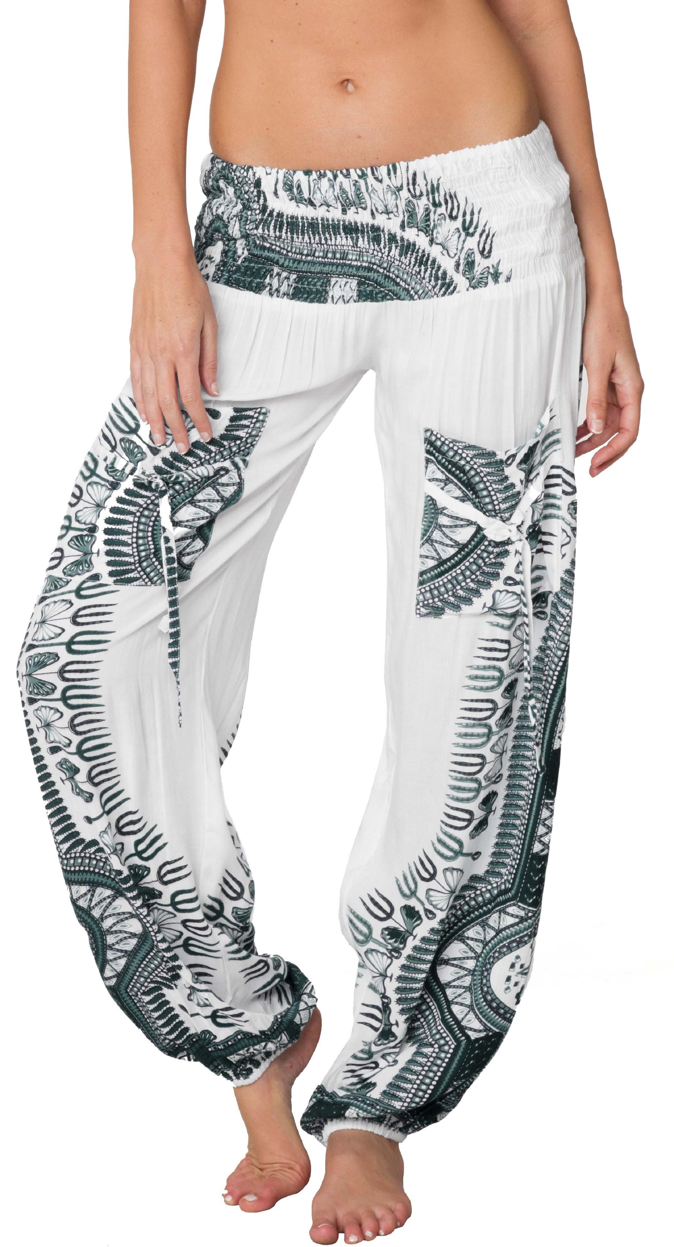 Bohemian Balloon Pirates PantS,sleeping wear,Comfortable Bottoms,Soft Bottoms Loungewear Comfy Housewear Flowy Yoga Pants-Hippie Trousers