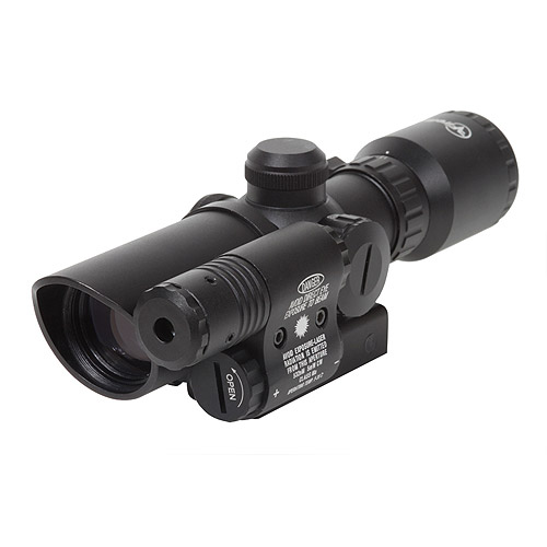 Firefield 1.5-5 Riflescope with Attached Green Laser by Firefield