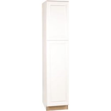 Rsi Home Products Pantry, Fully Assembled, Raised Panel, White, 18X84X24 In. ()