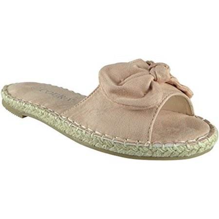 Flat Shoes | slides shoes | Womens Espadrille Shoes | Ladies Flat Shoes | Slippers For - Fur Flats