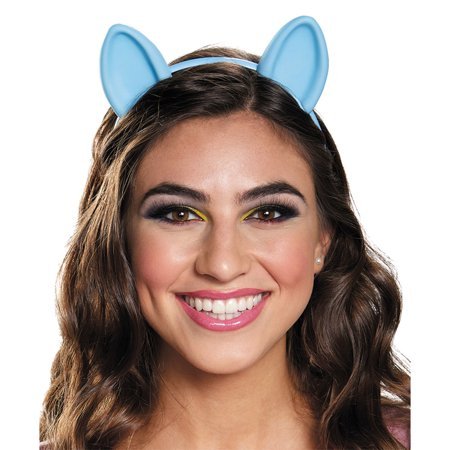 Morris Costumes Womens Rainbow Dash Ears Headband Blue One Size, Style DG85525