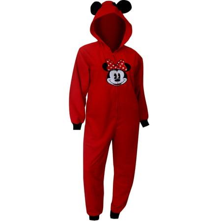 41cf341711b Richard Leeds - Disney's Minnie Mouse Ears On Red Hooded Onesie ...
