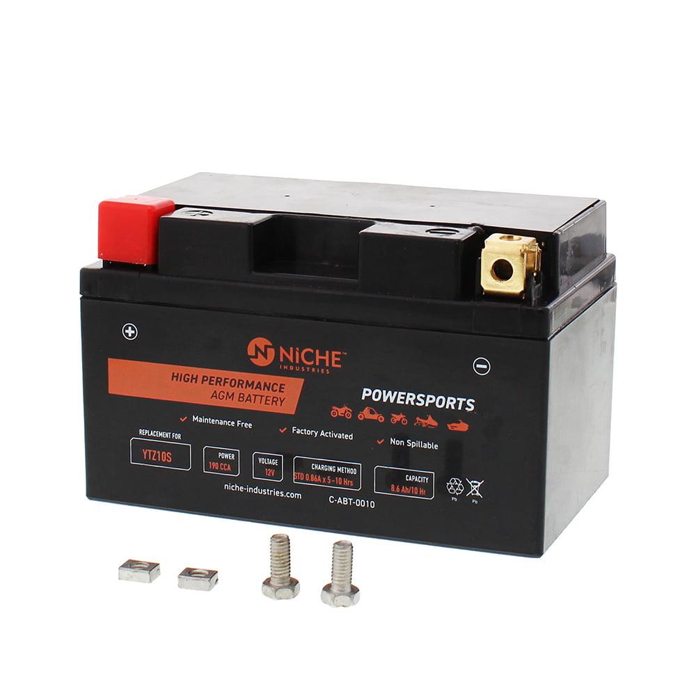 HONDA CB650F 2017 Maintenance Free Sealed Battery YTZ10S
