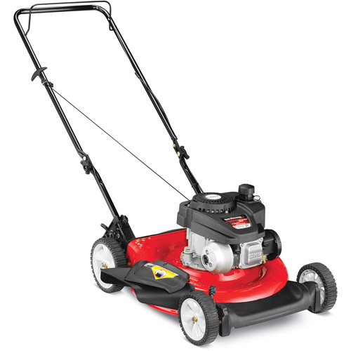 "Yard Machines 21"" Gas Push Lawn Mower with Side Discharge and Mulching"