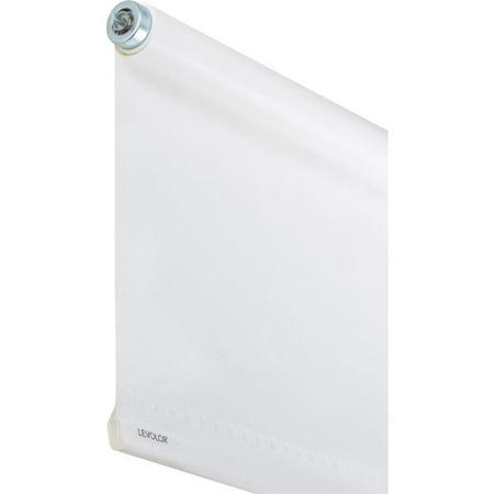 Levolor SRSECD3706001D Economy Room Darkening Window Shade, 60 in L x 37 in W x 4 mil T, Vinyl,