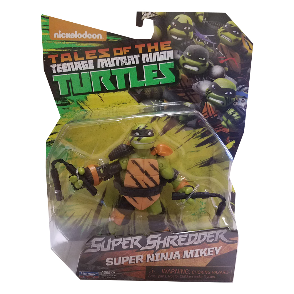 "TMNT 5"" Super Ninja Michelangelo Basic Action Figure by Playmates Toys"