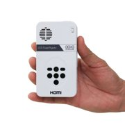 AAXA LED Pico Projector with 80 Minute Battery Life, Pocket Size, mini-HDMI, 15,000