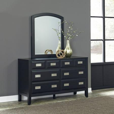 prescott 6 drawer dresser mirror. Black Bedroom Furniture Sets. Home Design Ideas
