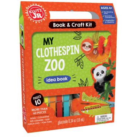 My Clothespin Zoo (Zoo Craft)