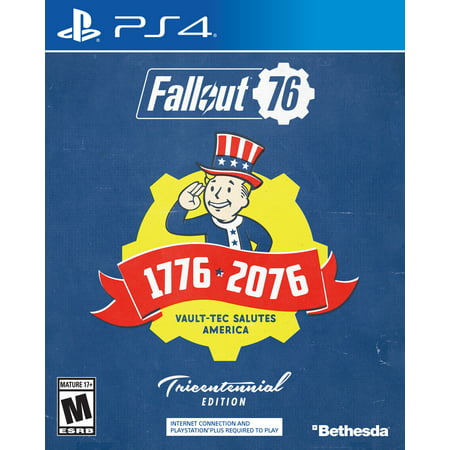 Fallout 76 Deluxe Edition, PlayStation 4, Bethesda