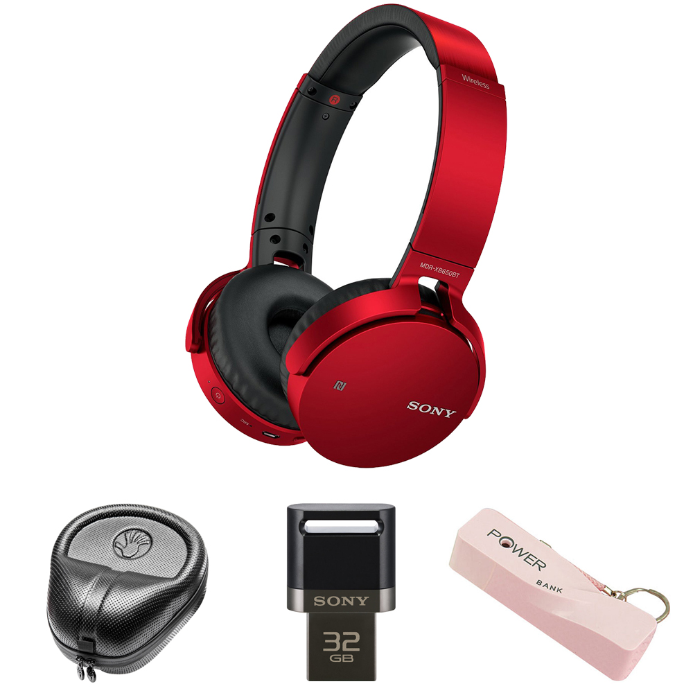 Sony XB Series Wireless Bluetooth Headphones w/ Extra Bas...