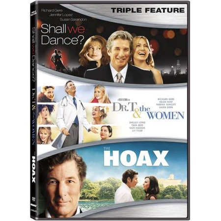 Richard Gere Triple Feature  Shall We Dance    Dr  T And The Women   The Hoax