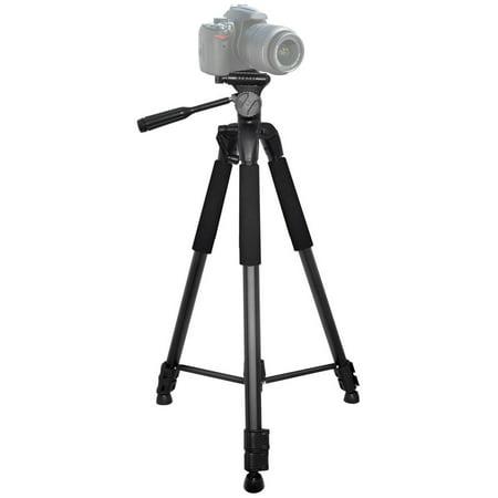 "72"" Xit Elite Series Aluminum Camera Tripod w/ Bubble Level & Carrying Case"