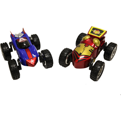 Regenerators Iron Man and Captain America Vehicles, Set of 2