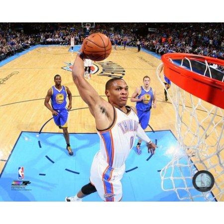 Russell Westbrook 2013-14 Action Photo Print