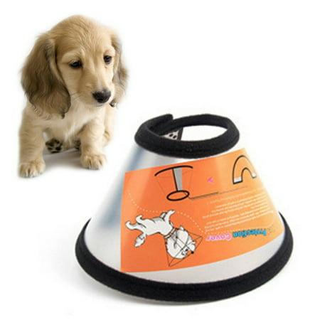 Pet Dog Cat E-Collar Wound Healing Cone Anti-Bite Protector