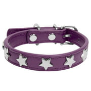 CUECUEPET Adjustable Dog Collar with Embellished Star Bling Charms [Multiple Sizes]