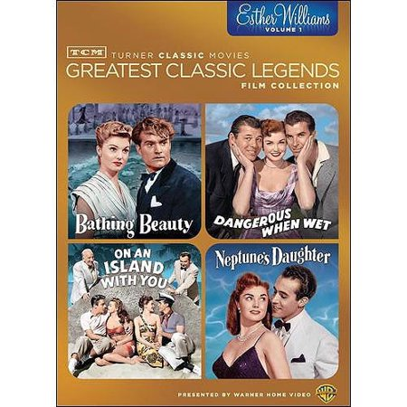 TCM Greatest Classic Films: Legends - Esther Williams Vol. 1: Bathing Beauty / Dangerous When Wet / On An Island With You / Neptune's Daughter - Films On Halloween