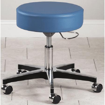 Enterprise Swivel Chair (Clinton 5 Leg Pneumatic Adjustable Therapist Exam Stool Chair)