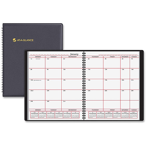 At-A-Glance Business-Oriented Monthly Planner