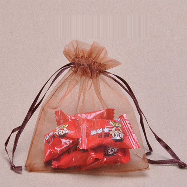 7 9cm Organza Drawstring Gift Bags Wedding Favor Bags Jewellery