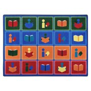 Joy Carpets Library Blocks
