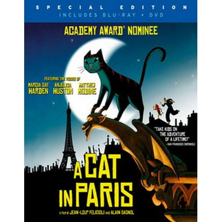 A Cat in Paris (Blu-ray) - Animation Halloween Paris