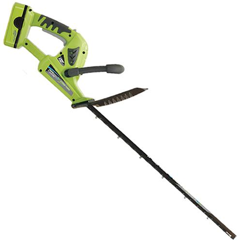 Earthwise LHT11122 22-Inch 18 Volt Lithium Ion Cordless Electric Hedge Trimmer
