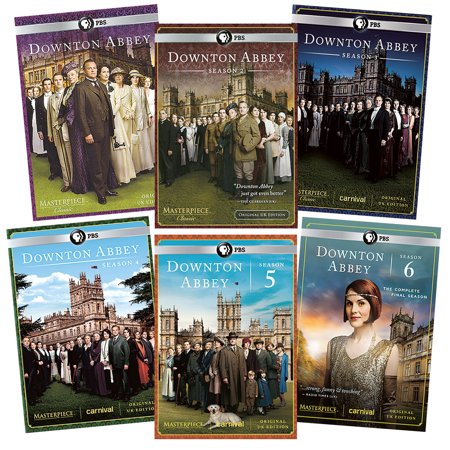 Downton Abbey Complete Series DVD Boxed Set -Seasons 1-6, Region 1 (US & Canada) (All Of Us Complete Series)