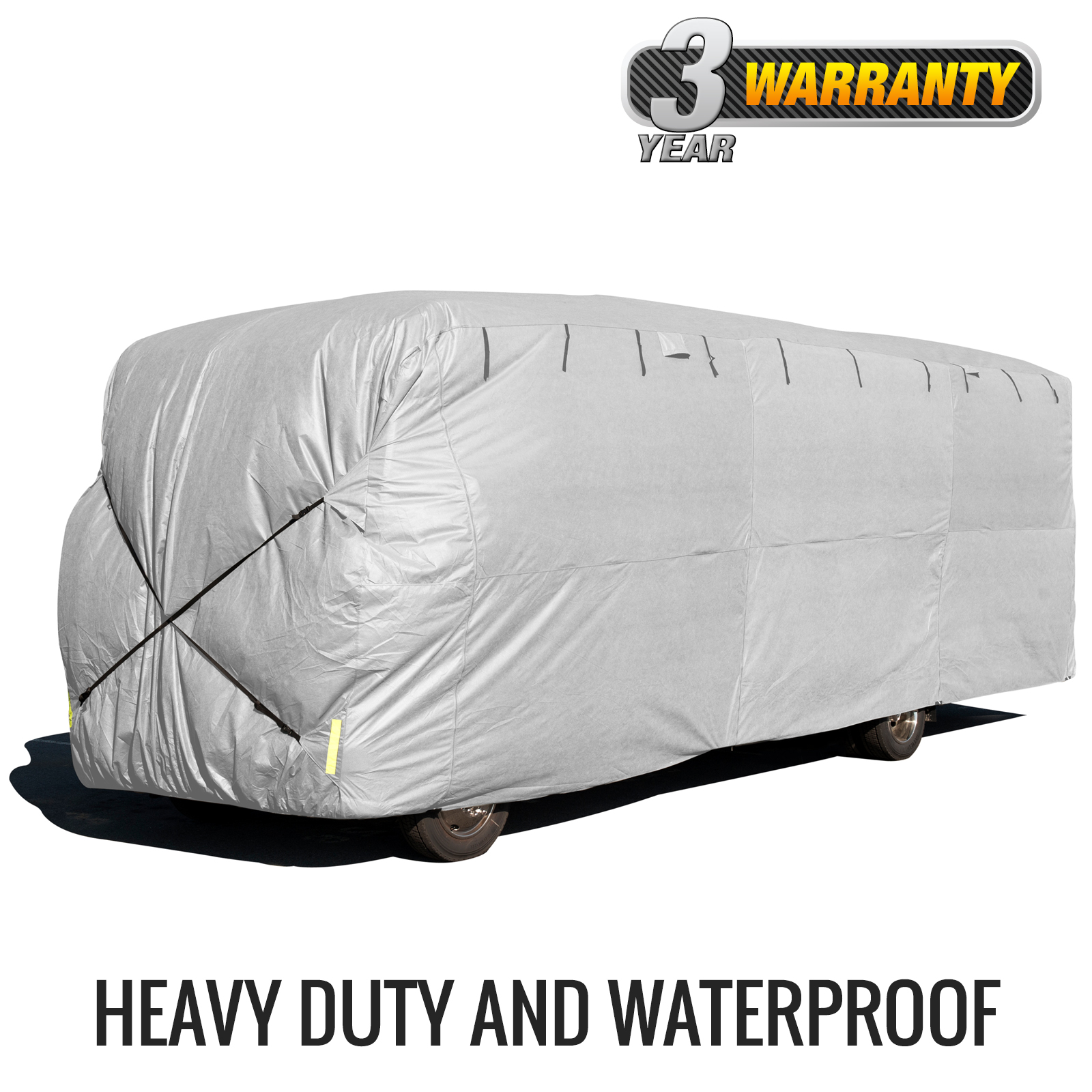 Budge Premier Class A RV Cover (Gray) Size A Up to 24' Long