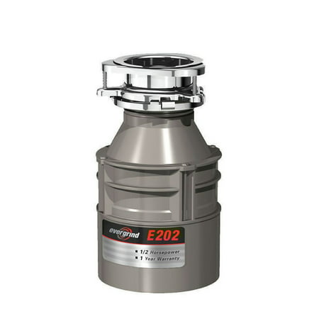 InSinkerator E202W/C Evergrind E202 1/2 HP Garbage Disposal with Cord