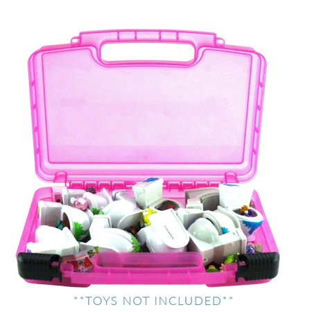 Flush Force Case, Toy Storage Carrying Box. Figures Playset Organizer. Accessories For Kids by LMB